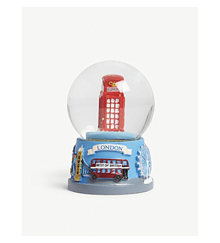 LONDON London telephone box snow globe 6.5cm
