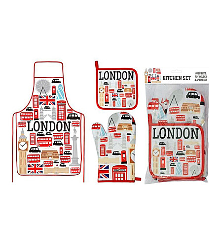 LONDON London Icons Kitchen Set