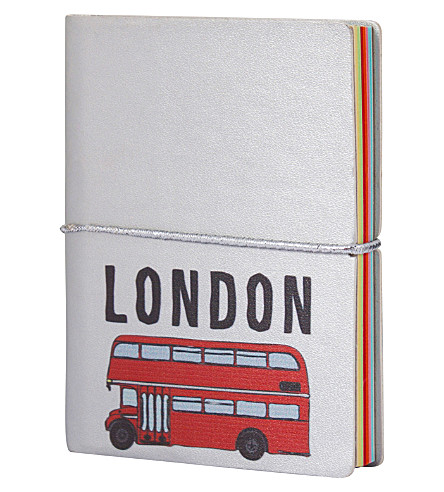 ICE LONDON Hello London bus notebook