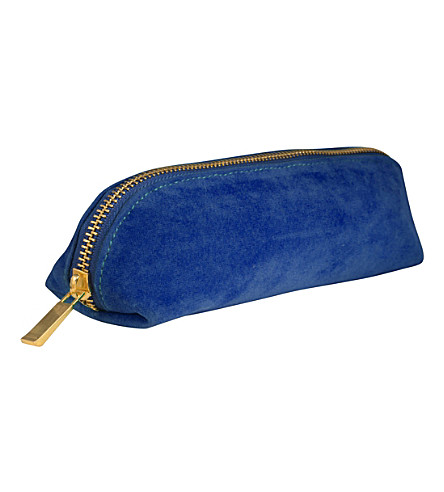 ICE LONDON Velvet pencil case