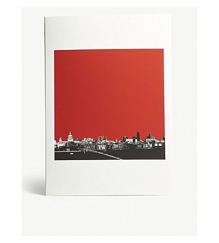 EAST END PRINTS London Skyline A3 print