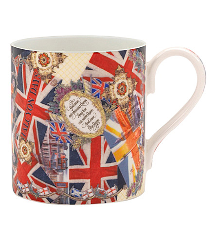 HALCYON DAYS The Glorious Reign fine bone china mug