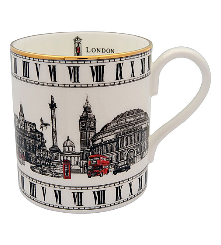HALCYON DAYS London Icons bone china mug