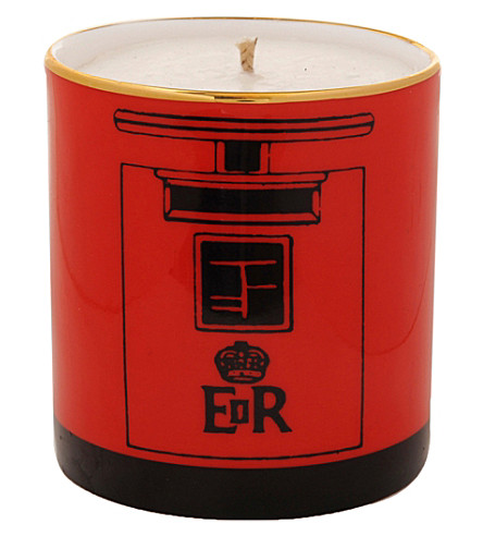 HALCYON DAYS Post box filled candle