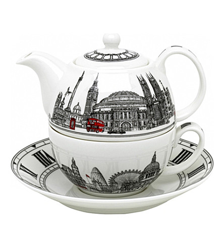 HALCYON DAYS London Icons Tea set