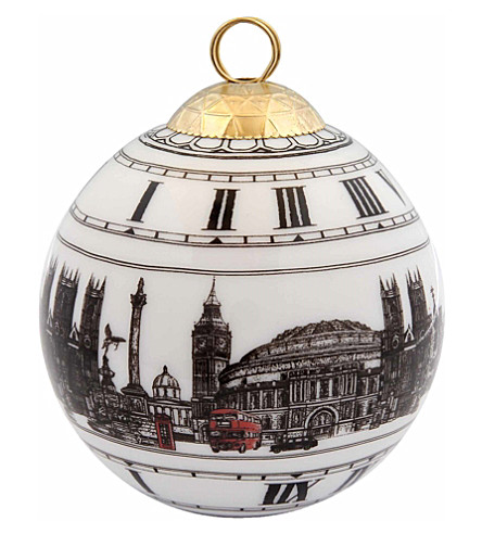 HALCYON DAYS Iconic london bauble