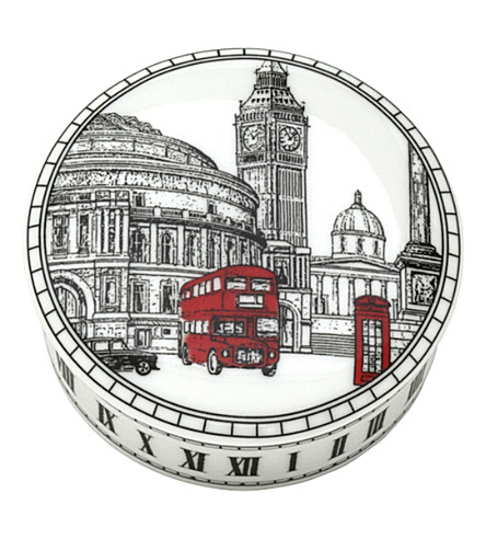 HALCYON DAYS Halcyon days london icons trinket box