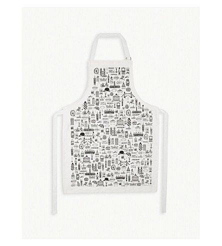 MARTHA MITCHELL DESIGN All Things British cotton apron