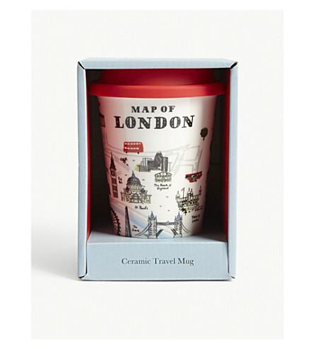 ALICE TAIT London ceramic travel mug