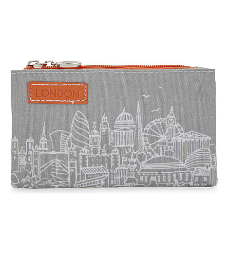 LONDON City skyline coin purse