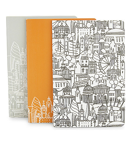 LONDON London A6 notebooks
