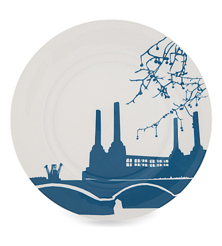 SNOWDEN Battersea Power Station print plate
