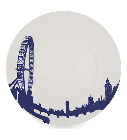 SNOWDEN London Eye print plate
