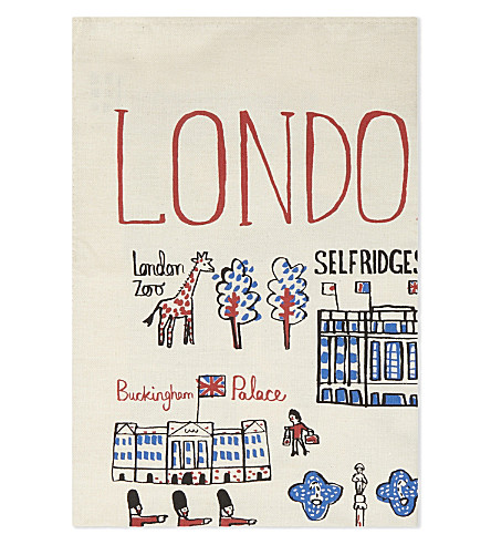 TALENTED Natural cotton tea towel