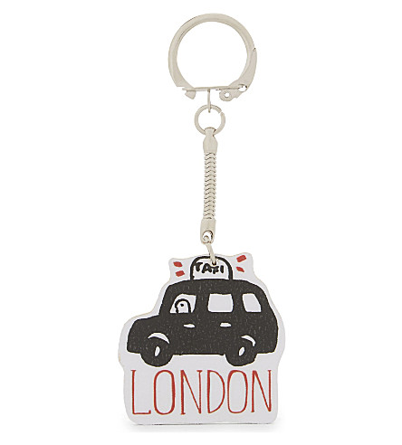 TALENTED Taxi cab keyring 7cm