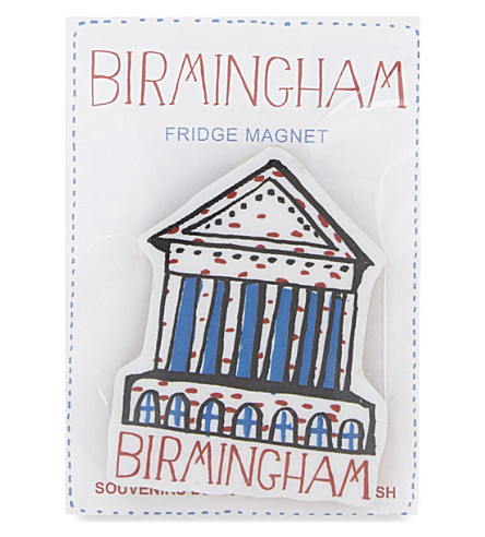 TALENTED Birmingham Town Hall fridge magnet
