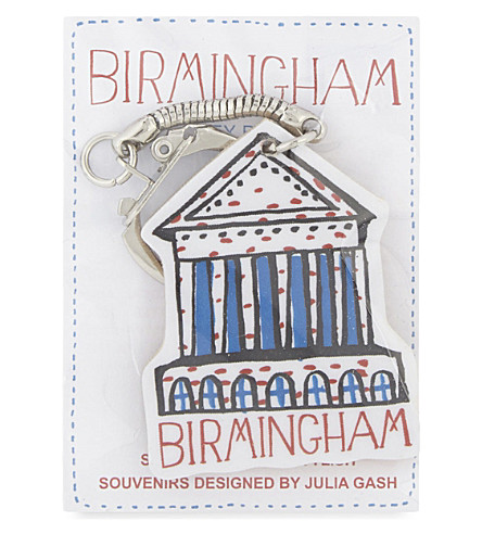 TALENTED Birmingham Town Hall keyring 5x4cm