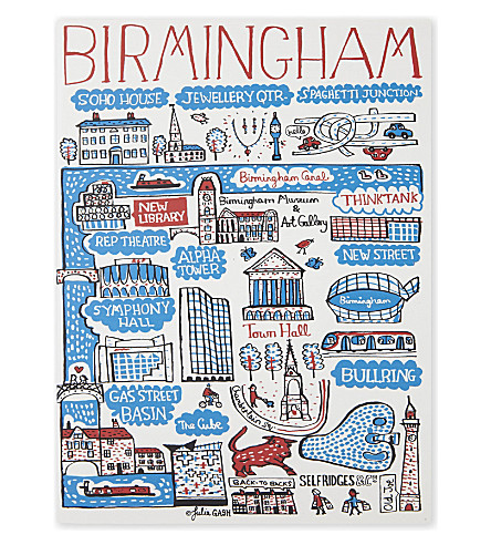 TALENTED Birmingham A5 plain notebook