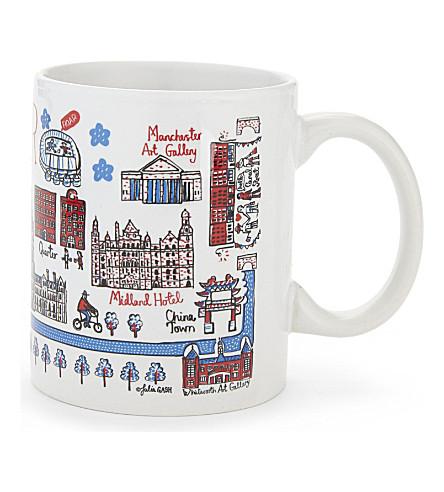 TALENTED Manchester landmarks mug