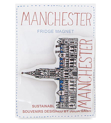 TALENTED Manchester Town Hall fridge magnet