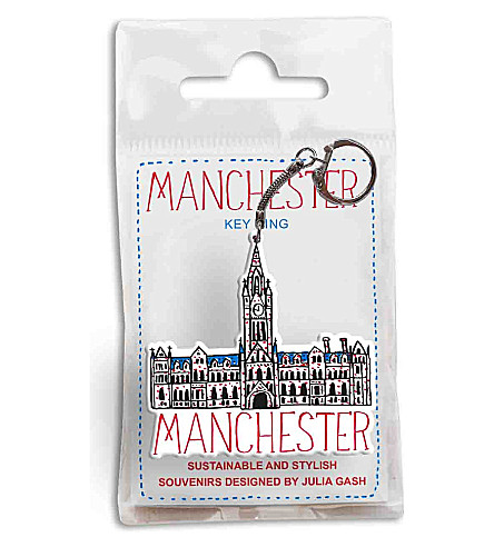 有才华的曼彻斯特市政厅钥匙扣
