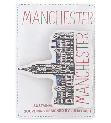 TALENTED Manchester Town Hall brooch