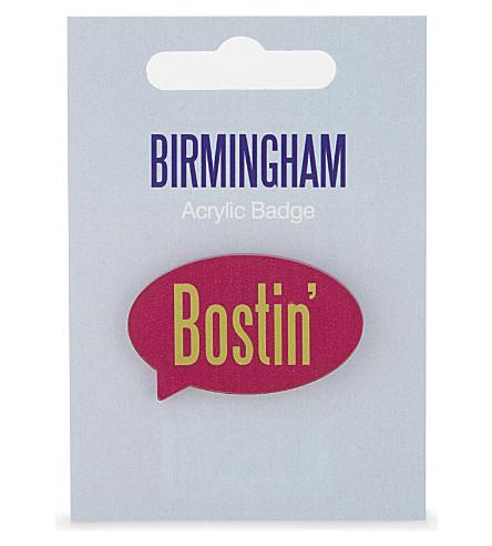 我的世界 Bostin 的亚克力徽章