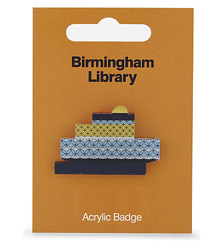 MY WORLD Birmingham library badge