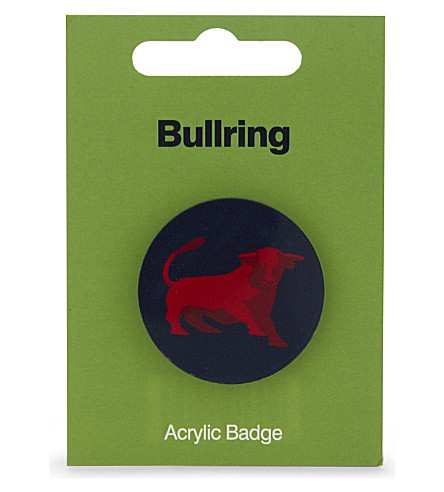 MY WORLD Bullring acrylic badge