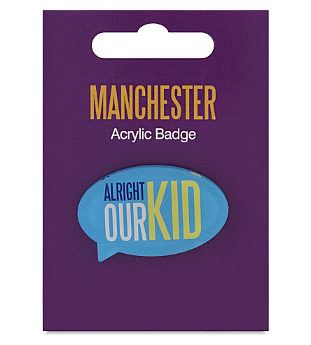 MY WORLD Alright our kid badge