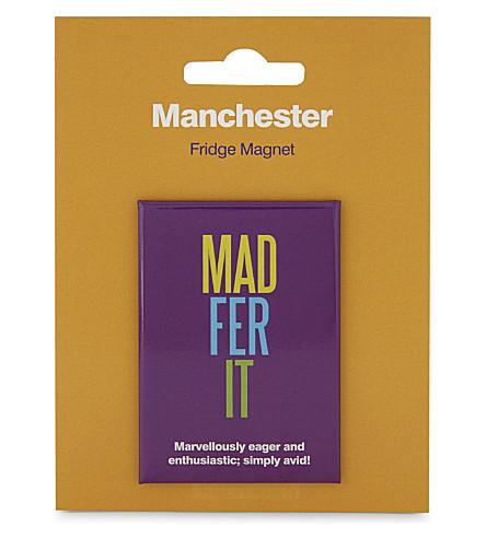 MY WORLD Manchester slang fridge magnet
