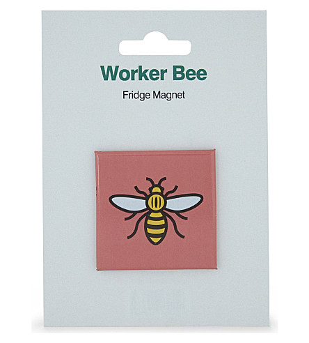 MY WORLD Worker bee fridge magnet
