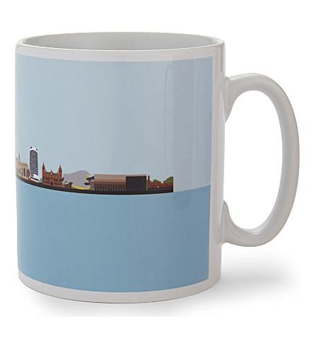 MY WORLD Birmingham skyline ceramic mug