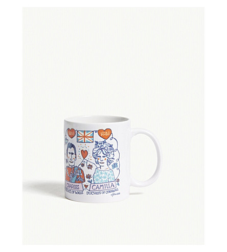 TALENTED Royal family ceramic mug