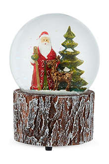 GISELA GRAHAM Woodland santa music dome 10cm