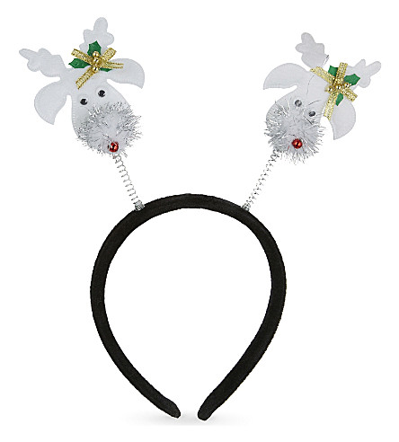 DRESS UP Novelty reindeer deely bobber