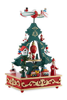 GISELA GRAHAM Tree music box 28cm