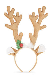 GISELA GRAHAM Reindeer antler ears hair band