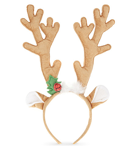 DRESS UP Reindeer antler ears hairband