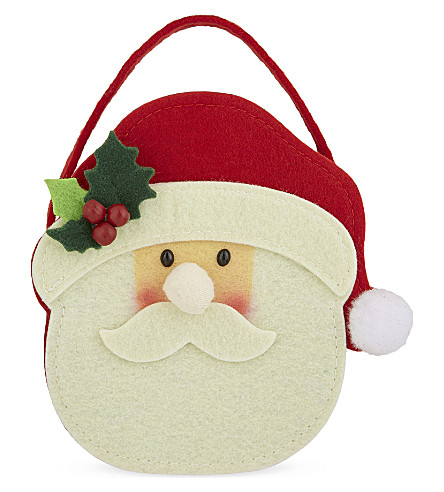 DRESS UP Felt santa bag