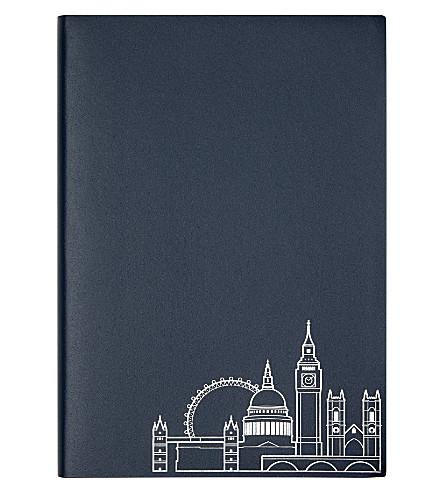 UNDER COVER London skyline a5 notebook