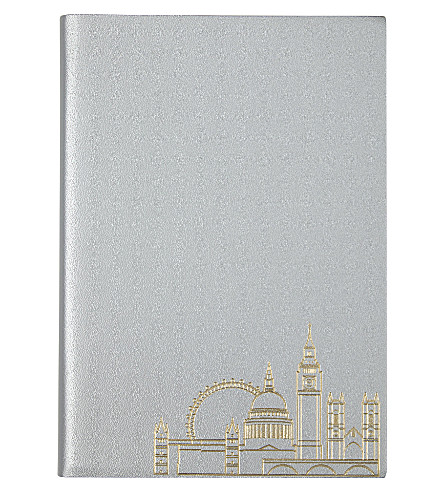 UNDER COVER London skyline a5 notebook