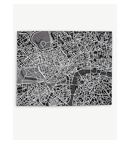 TURNAROUND PUBLISHING London wall map with pins