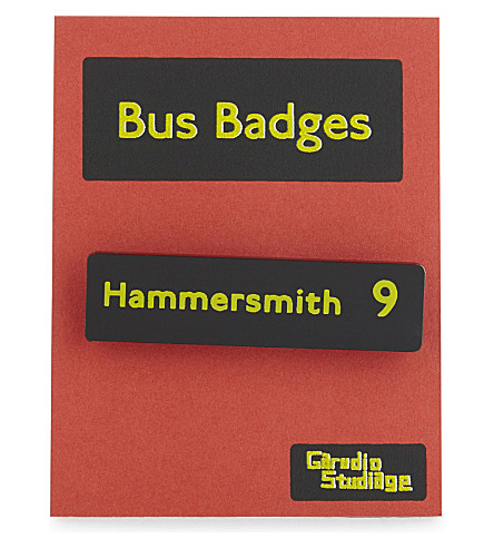 TURNAROUND PUBLISHING Hammersmith 9 bus badge