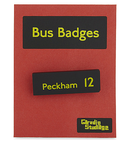 TURNAROUND PUBLISHING Peckham 12 bus badge