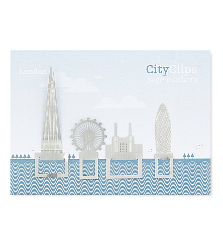 TURNAROUND PUBLISHING London city skyline bookmarks