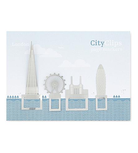 TURNAROUND PUBLISHING London city skyline bookmarks