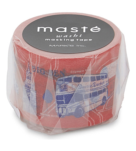 TURNAROUND PUBLISHING London masté washi masking tape