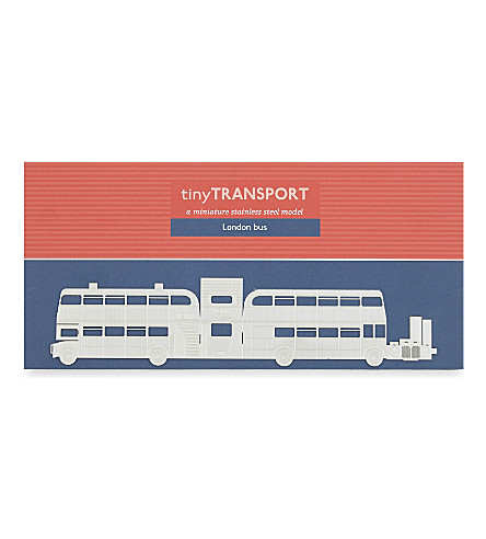 TURNAROUND出版 TinyTransport 伦敦公共汽车模型