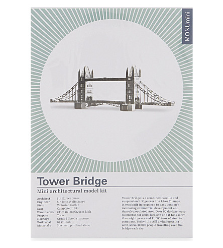 TURNAROUND PUBLISHING Tower Bridge model